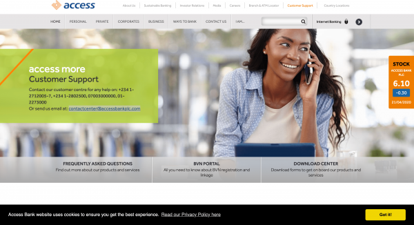 Access Bank - Loans up to N5.000.000