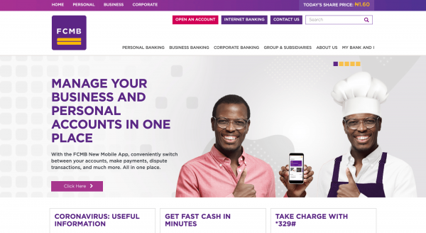 FCMB - Loans up to N2.000.000