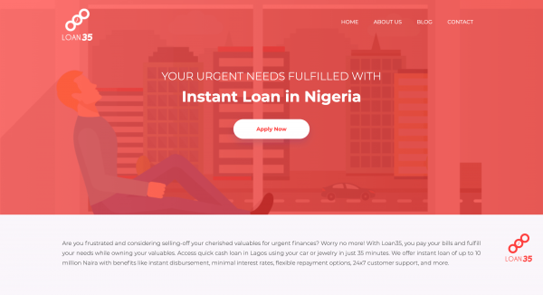Loan35 - Loans up to N2.000.000