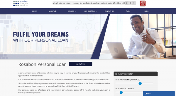 Rosabon Financial Services Limited