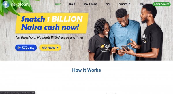 Sokoloan - Payday loans up to N100.000